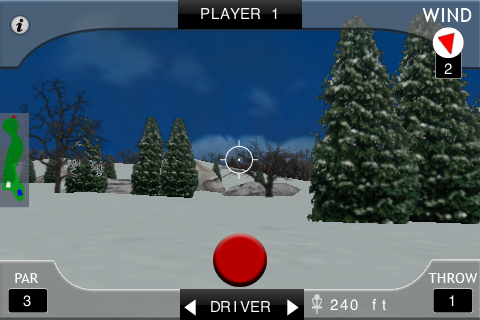 Screenshot iDisc Golf Lite